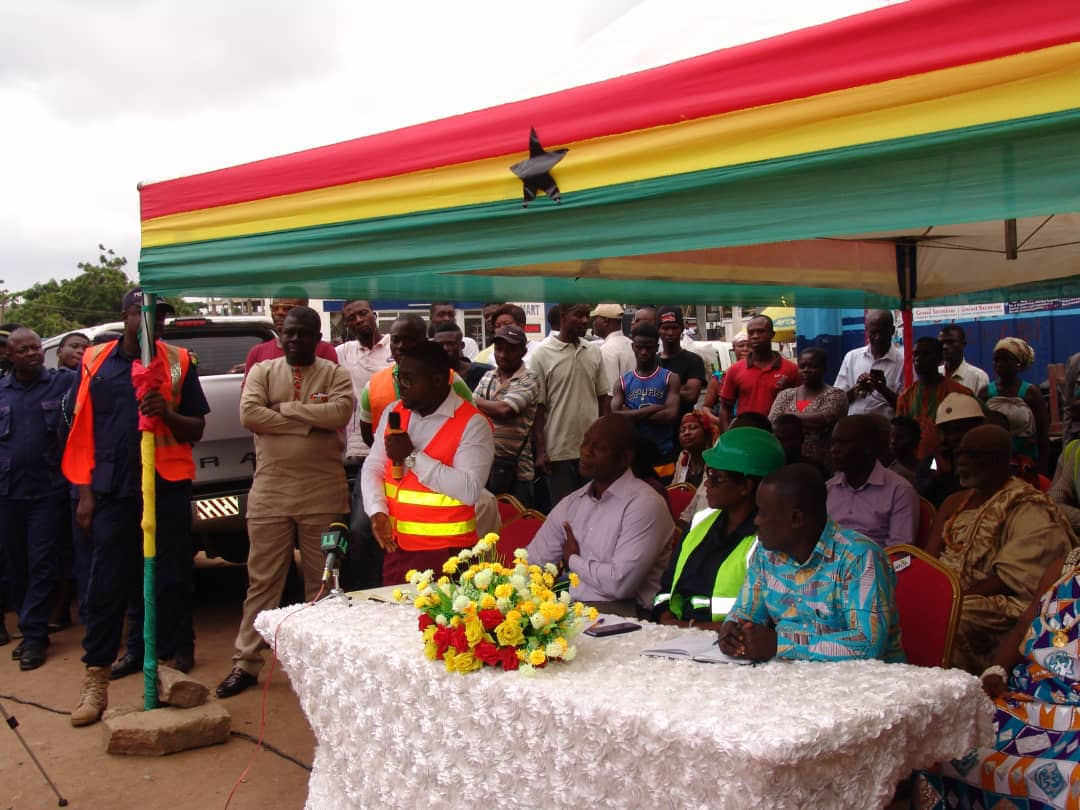 GA EAST MUNICIPAL ASSEMBLY MEETS PEOPLE LIVING AROUND DOME AND TAIFA RAILWAY LINES.