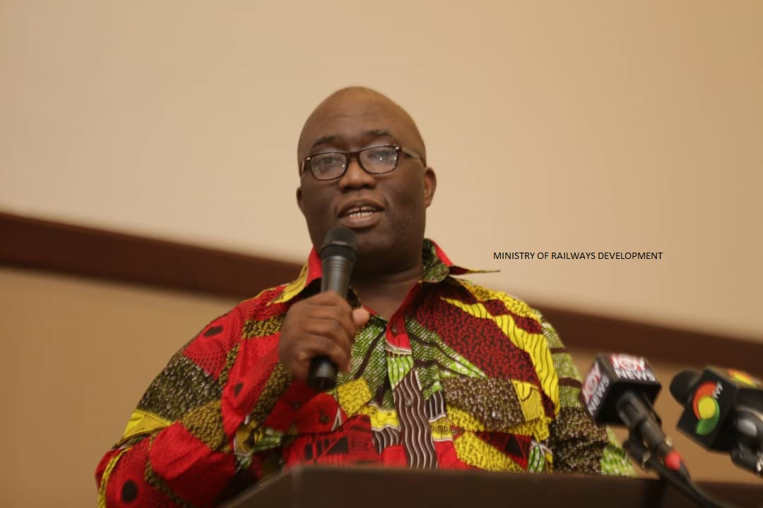 KUMASI WILL BE CONNECTED TO PAGA BY RAIL, SOON – JOE GHARTEY