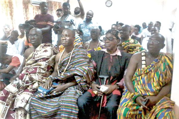 MINISTER SEEKS SUPPORT FROM VOLTA CHIEFS, STAKEHOLDERS FOR RAIL PROJECT