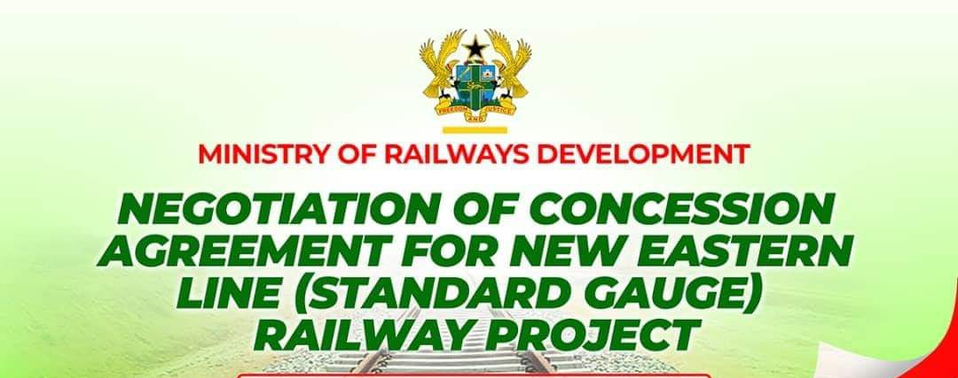 NEW EASTERN LINE (STANDARD GAUGE) RAILWAY PROJECT TO COMMENCE SOON